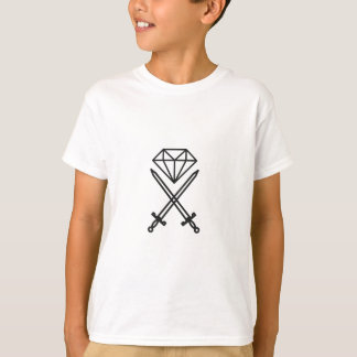 Camiseta Corte do diamante
