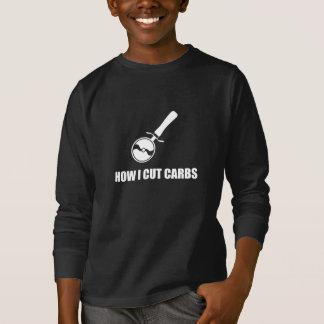 Camiseta Corte o cortador da pizza dos carburadores