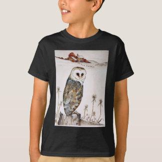 Camiseta Coruja de celeiro na caça