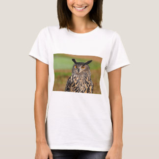 Camiseta Coruja de Eagle do europeu