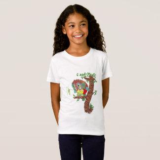 Camiseta Coruja e colibri loucos