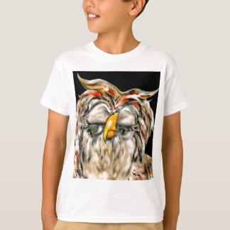 Camiseta Coruja graciosa