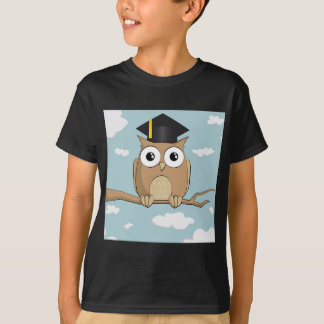 Camiseta Coruja graduada