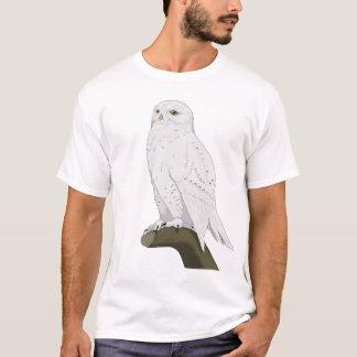 Camiseta Coruja nevado