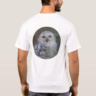 Camiseta Coruja nevado, Schnee-Eule 02_rd