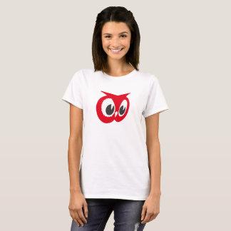 Camiseta Coruja vermelha