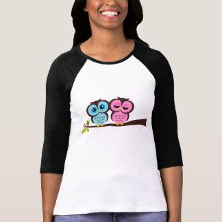 Camiseta Corujas bonitas