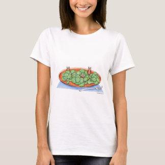 Camiseta Corujas nos brócolos