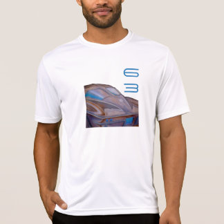 """Camiseta """"Corveta 63"""" t-shirt cabido do pescoço de grupo"""