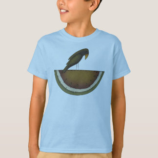 Camiseta Corvo e melão