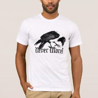 Camiseta Corvo nunca mais