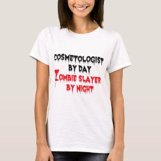 Camiseta Cosmetologist pelo assassino do zombi do dia em a