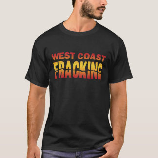 Camiseta Costa oeste Fracking