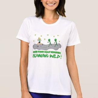 Camiseta Costa selvagem Running do espaço