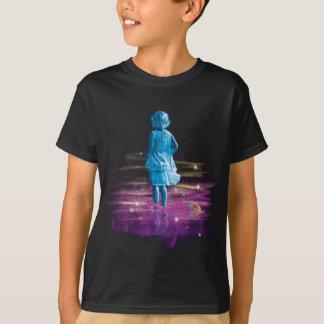 Camiseta Costas do oceano cósmico