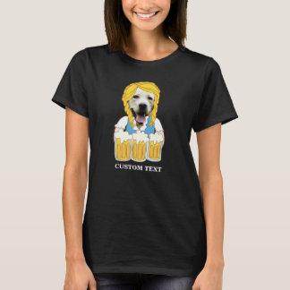 Camiseta Costume amarelo engraçado do amante da cerveja do