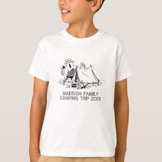Camiseta Costume das férias de verão da viagem de