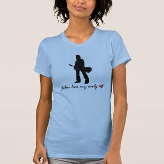 Camiseta Costume de JMMA Ashley: John tem meu somente <3Tee