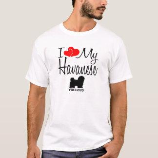 Camiseta Costume eu amo meu Havanese