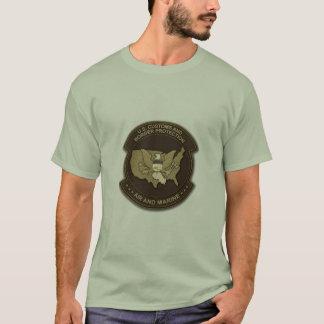 Camiseta costumes e ar e fuzileiro naval da proteção da