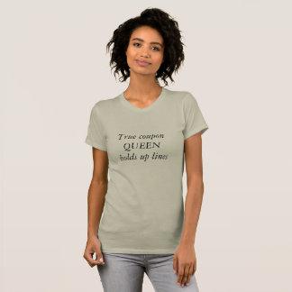 Camiseta Couponer da rainha