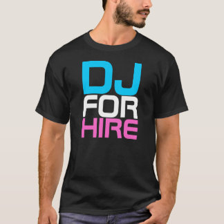 Camiseta Couture DJ do rap PARA o t-shirt do ALUGUER
