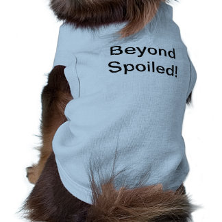 Camiseta Couture do filhote de cachorro
