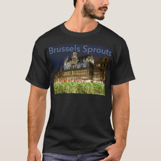 Camiseta couves de Bruxelas