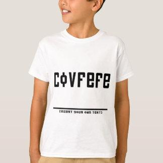 Camiseta Covfefe (texto da inserção)
