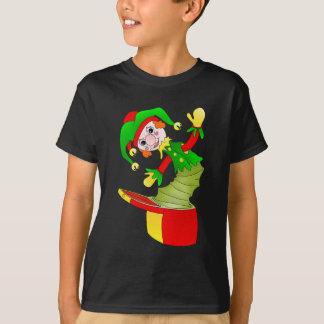 Camiseta Coxim de Jack in the Box dos desenhos animados