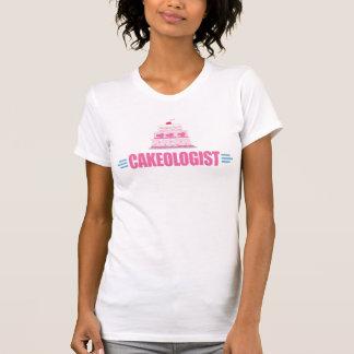Camiseta Cozimento engraçado do bolo, crosta de gelo
