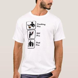Camiseta Cozinhando, faça-o você mesmo (DIY), pai