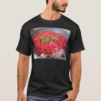 Camiseta Cozinhando o molho de tomate caseiro