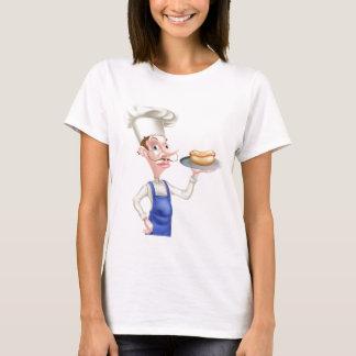 Camiseta Cozinheiro chefe dos desenhos animados com