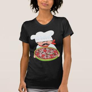 Camiseta Cozinheiro chefe e pizza