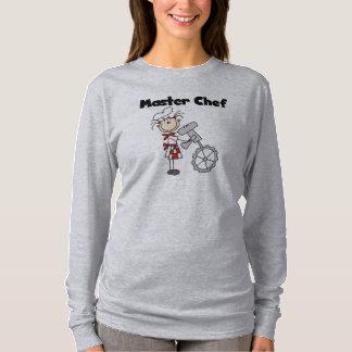 Camiseta Cozinheiro chefe mestre - fêmea