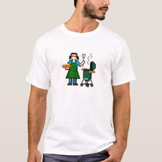 Camiseta Cozinheiro da mulher BGE