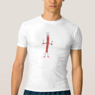 Camiseta Cozinheiro Zojfa da salsicha