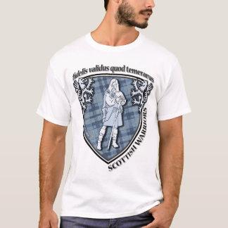 Camiseta Cpy horizontal do guerreiro das montanhas