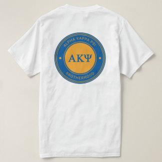 Camiseta Crachá alfa da libra por polegada quadrada | do