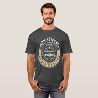"Camiseta Crachá ""azul/branco"" de SophistiGENTS para homens"