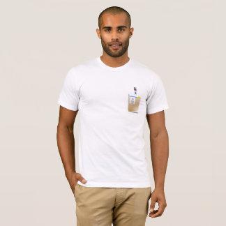 Camiseta Crachá customizável da identificação