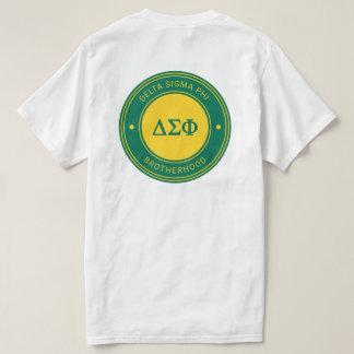 Camiseta Crachá da phi   do Sigma do delta