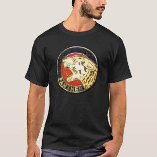 Camiseta Crachá das motocicletas da pantera do vintage