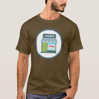 Camiseta Crachá de Open Source