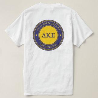 Camiseta Crachá do épsilon   do Kappa do delta