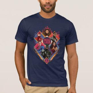 Camiseta Crachá do grupo do portal do diamante da liga de