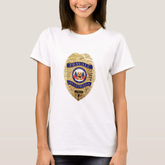 Camiseta Crachá do investigador privado