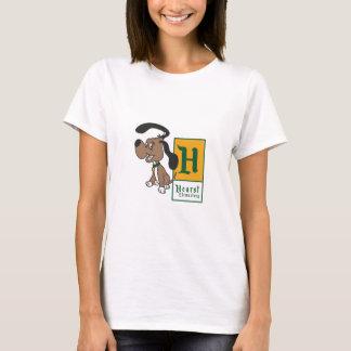 Camiseta Crachá elementar do cão de Hearst
