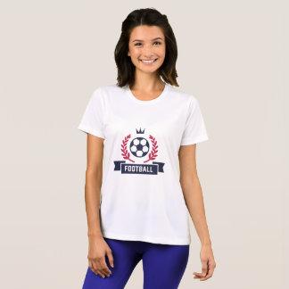 Camiseta Crachá formal do futebol do futebol. Número feito